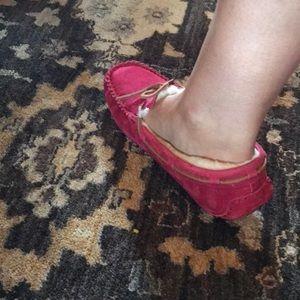 UGG Shoes - Ugg slippers,hot pink never worn super comfy.